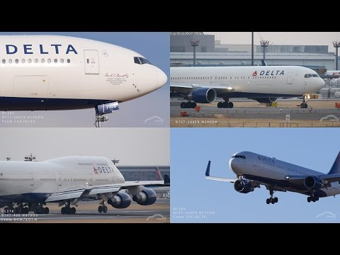 """DELTA collection"" at Narita International Airport (NRT/RJAA)"