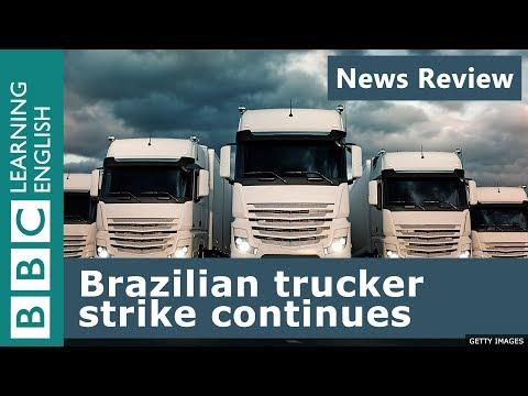 Brazilian trucker strike