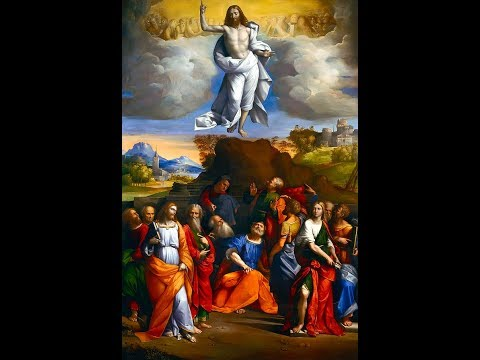 Christ's Ascension Perfects All Order