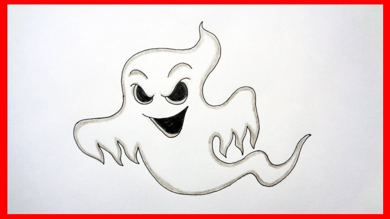 How to draw a ghost, Halloween stuff, pictures, characters ...