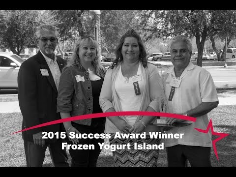 2015 Success Award Winner - Frozen Yogurt Island - Mohave Community College SBDC