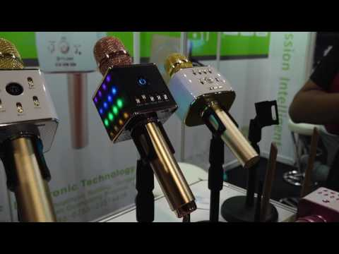 Karaoke Microphone at 2017 Global Sources Electronics Show