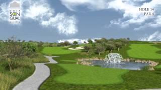 Hole 14 Golf Son Gual Mallorca