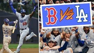 Yasiel Puig PIMPS Home Run, Dodgers Beat Brewers in Game 7! 2018 MLB Postseason Highlights