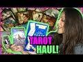TAROT CARDS DECKS HAUL!! TAROT CARDS, ORACLE CARDS, TAROT READING BOOK + WHY I READ TAROT CARDS?!