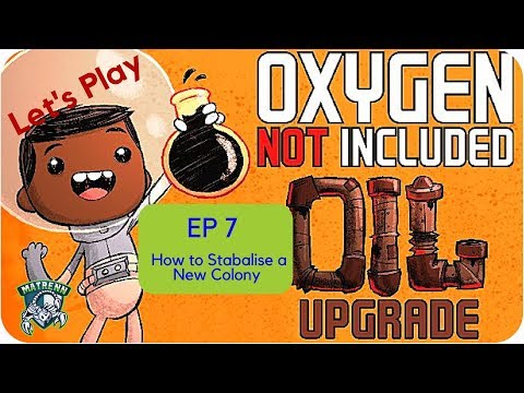 Oxygen Not Included EP7: How to build Exosuits and a sustainable a small colony