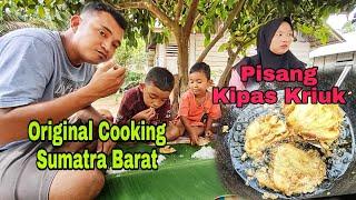 Original Cooking || Pisang Kipas Kriuk Sumatra Barat❤️❤️