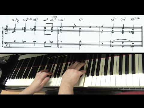 'Yesterday' (Lennon\McCartney) Jazz Piano Arrangement