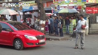 Crazy Car Prank In Public By Funk You (Prank in India)