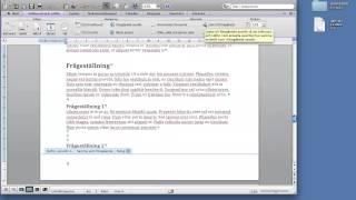sidnumrering word mac