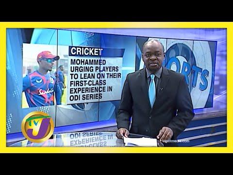 1st Class Experience is Key to ODI Series | TVJ Sports