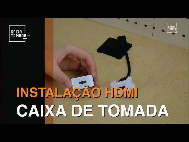 Como Instalar o HDMI na Caixa de Tomada