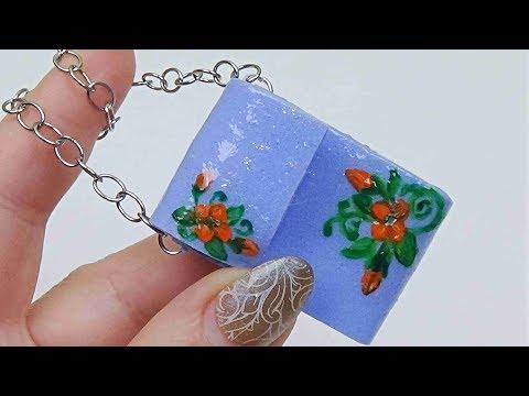 Diy miniature purse for doll │ Easy doll bag diy │ Miniature bag for doll diy │ Doll Stuff