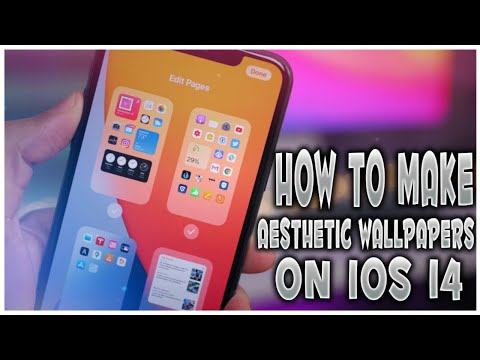 New How To Make Aesthetic Wallpapers On Ios 14 For Iphones Ios 14 Trick Youtube