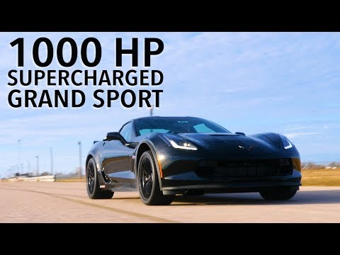 Corvette Grand Sport Boosted To An Absurd 1000 HP By Hennessey