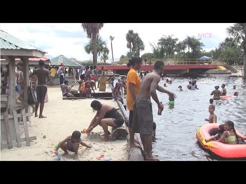 Fun at Splashmins, Guyana (HD)