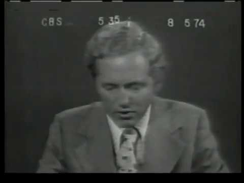 CBS Evening News Reports Early August 1974
