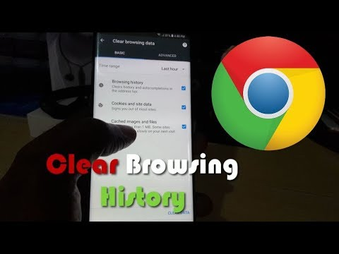 How to clear search history in chrome android