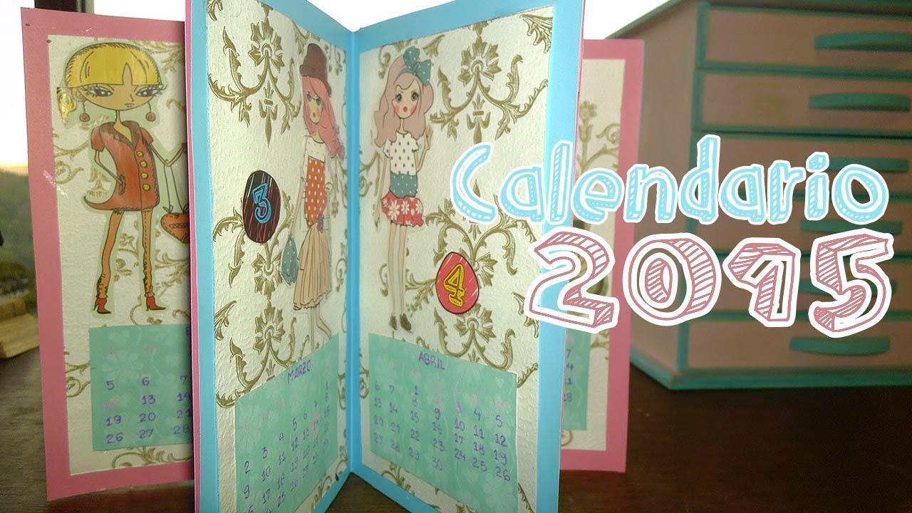 C mo hacer tu propio calendario candy bu youtube - Como hacer tu propio calendario ...