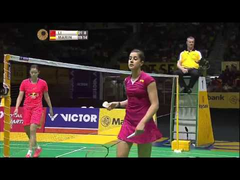 HD Final   2015 Malaysia Open Premier   Li Xuerui vs Carolina Marin