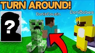 TROLLING MY COUSINS FIRST DAY ON MINECRAFT! *epic* (Minecraft Trolling)