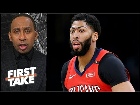 Anthony Davis should want to go to the Lakers - Stephen A. l First Take