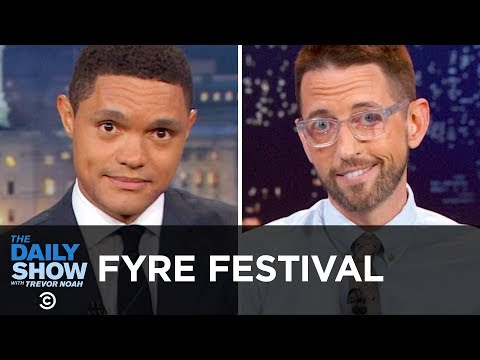 THROWBACK: Why Was Fyre Festival a Disaster? | The Daily Show