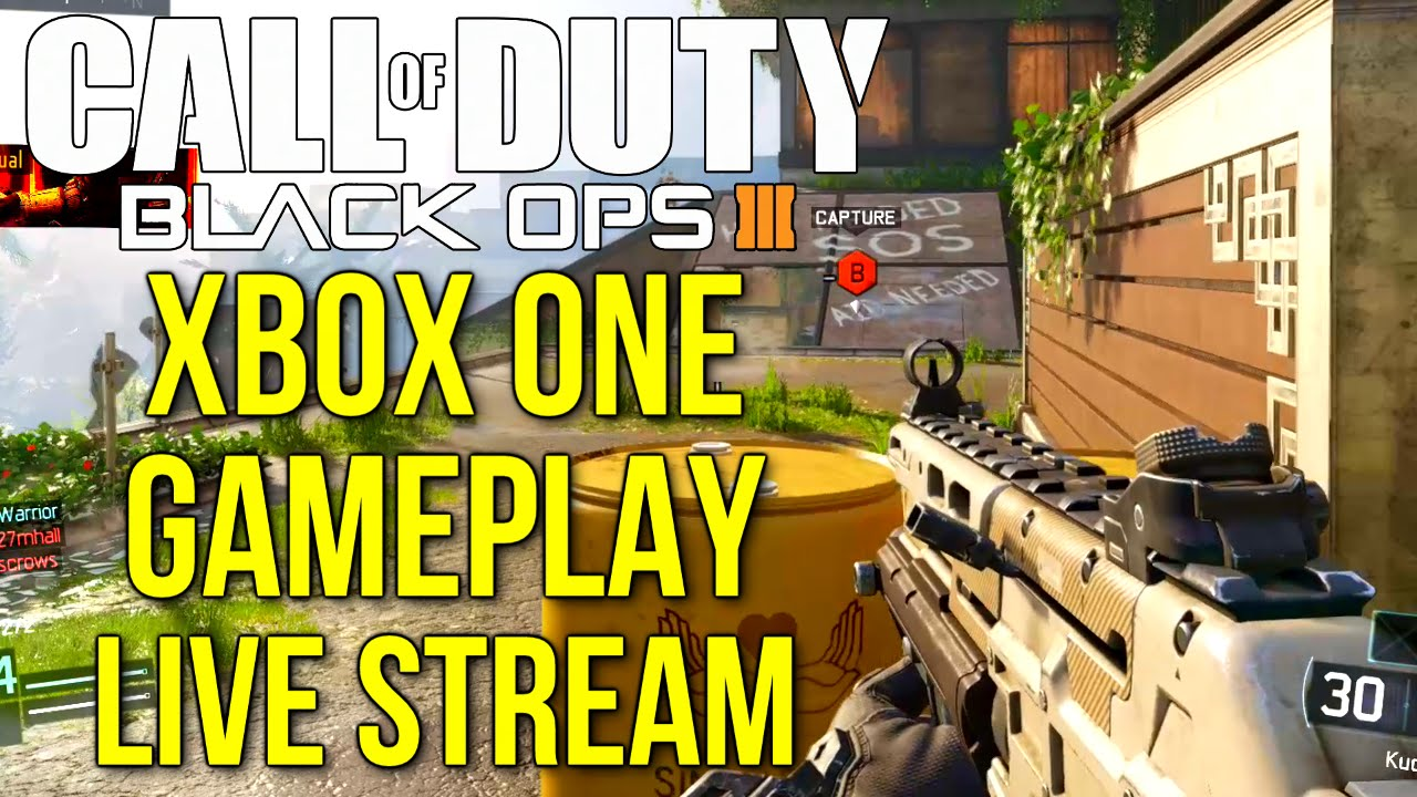 Call Of Duty Black Ops 3 Xbox One Multiplayer Gameplay