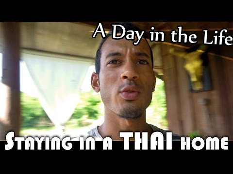 SLEEPING IN A THAI HOME - LIVING IN THAILAND DAILY VLOG (ADITL EP91)