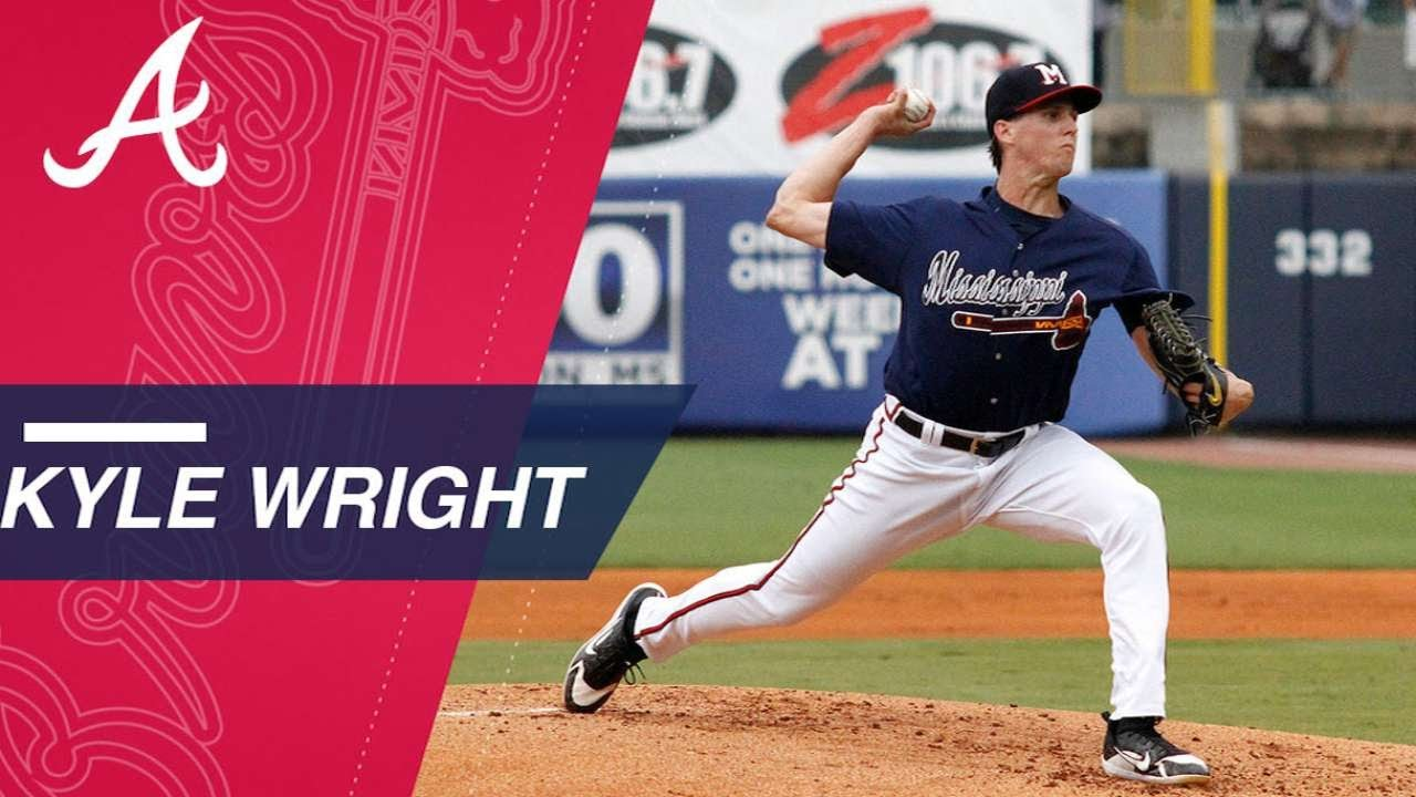 Kyle Wright is Braves #2 prospect with four pitches