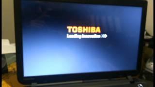 TOSHIBA Satellite C50 recovery