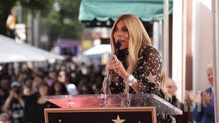 Wendy Williams Talks About Overcoming Hardships At Hollywood Star Unveiling