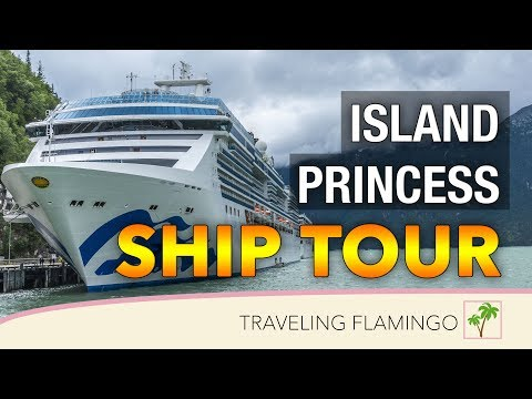 Island Princess COMPLETE Ship Tour | Princess Cruise Lines | 2019 In 4K