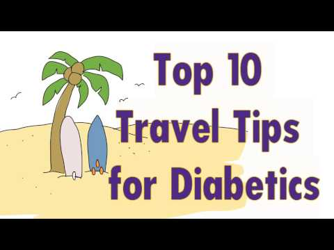 Top 10 Travel Tips for Diabetics
