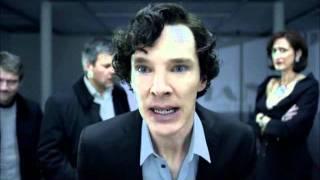 """Шерлок """"Большая игра"""" отрывок с картиной"""