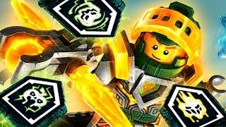 ААРОН :) Lego Nexo Knights - Игра про Мультики Лего Нексо Найтс 2017 Видео для Детей