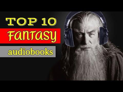 TOP 10 FANTASY AUDIOBOOKS! 🎧