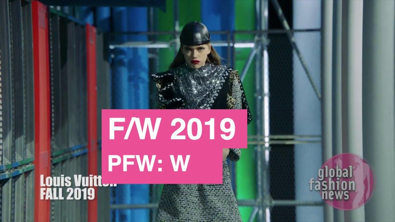 Louis Vuitton Fall/Winter 2019 Women's Runway Show | Global Fashion News