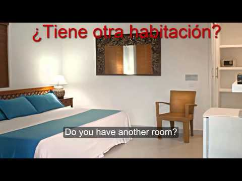 how 2 learn spanish : at the hotel