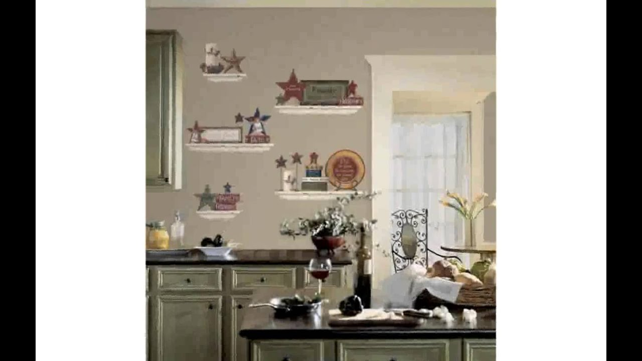 Kitchen wall decor stickers youtube amipublicfo Choice Image