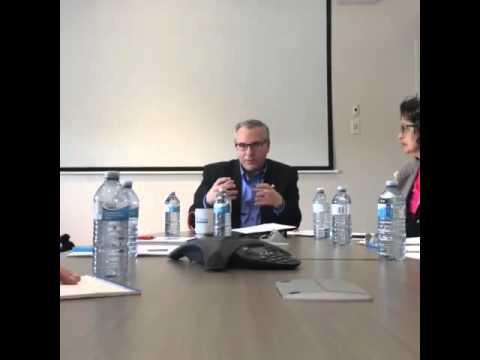 Liberal MPP Chris Ballard speaks with the Autism Community on Legislation Changes