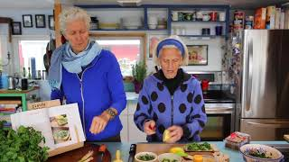The Ultimate: Lemon and Kale Open-Faced Sandwich