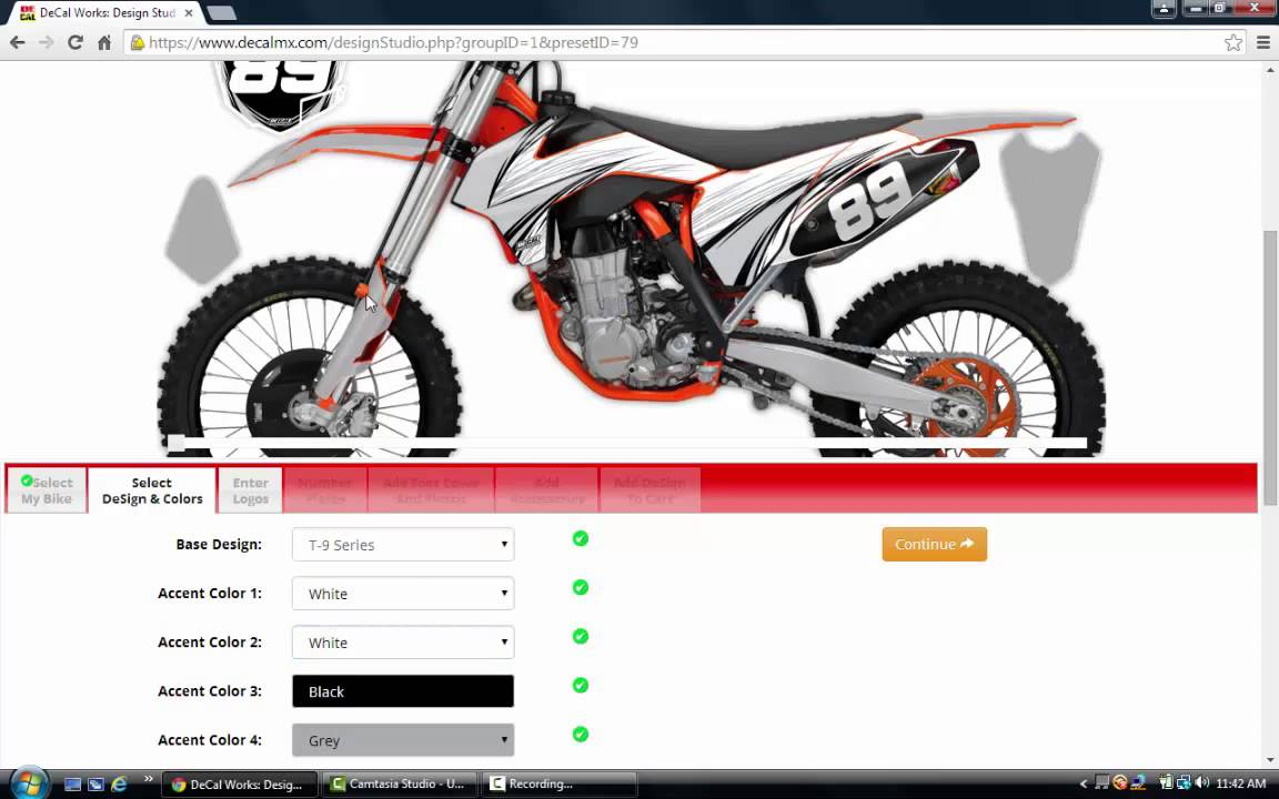 DeCal Works KTM Graphics Kits YouTube - Decal works graphics