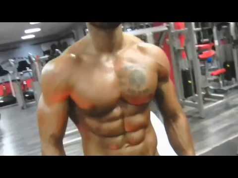 Lazar Angelov Chest Workout Video 2016