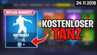 FORTNITE SHOP from 24.11 - 😧 FREE TANZ 🛒 Fortnite Daily Shop of Today 24 November 2018 | Detu
