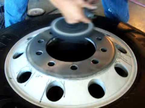How To Polish Aluminum Wheels >> Restoring an Alcoa Rim with Gord's Polish - YouTube