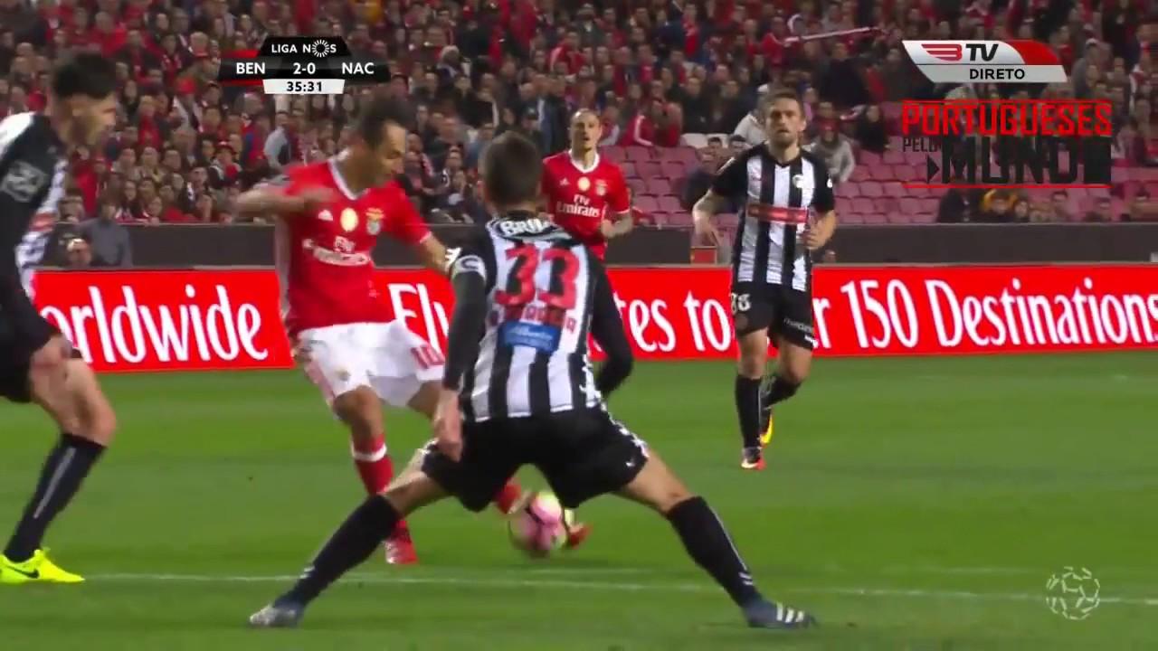 Benfica 3 X 0 Nacional Resumo E Golos