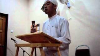 permata camar- latihan khutbah jumaat oleh zul