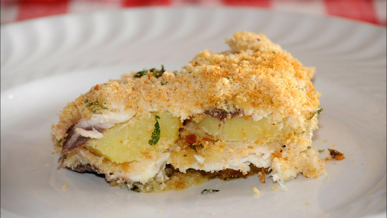 Estremamente Il mare in cucina: Tortino di pesce e patate - YouTube SL41