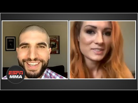 Becky Lynch opens up about Wrestlemania 36 without fans   ESPN MMA
